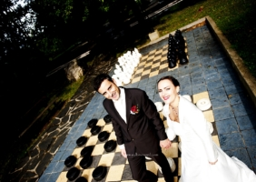 Mariage Charline et William – Najac – Aveyron